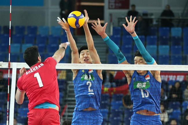 中国男排vs伊朗