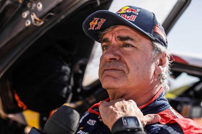 西班牙老将塞恩斯第3次夺得达喀尔拉力赛汽车组冠军