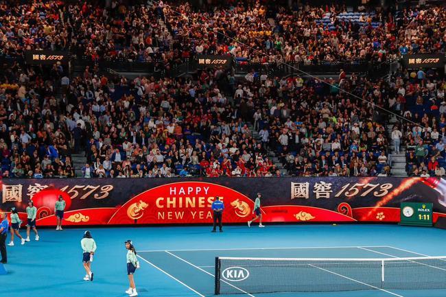 瀘州老窖將中國春節的祝福傳遞給球員與全世界的觀眾