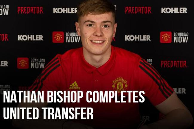 曼联签下20岁的门将比绍普