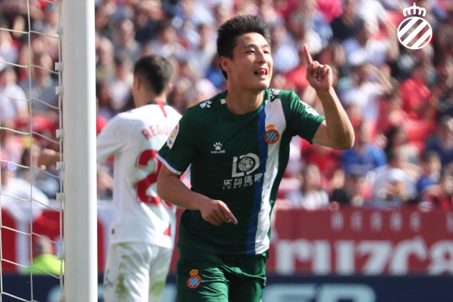 中国第4!武磊五大联赛出场超越李铁 进球重燃希望