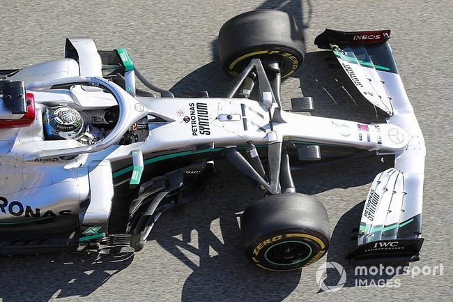 博塔斯:其他车队很难复制他们的DAS双轴转向体系。