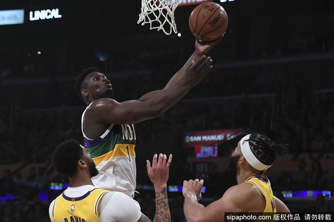 29+6成歷史第一!Zion籃下多次野蠻衝撞,獲19次罰球遠超詹眉之和!(影)-籃球圈