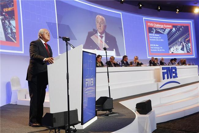 国际排联世界大会因疫情推迟 2024年主席换届选举