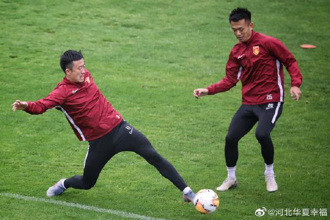 华夏再度集结备战中超 姜至鹏董学升归队训练