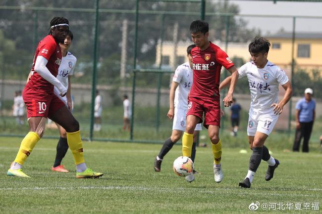 热身赛-华夏2-2北体大 马尔康头球摆渡助冯刚破门