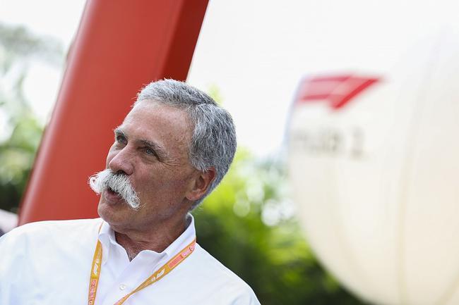 F1首席实走官兼主席蔡斯·凯里