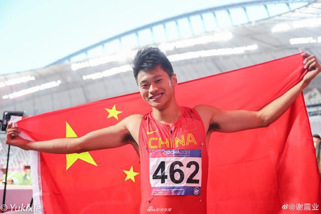 200米飞人谢震业谈奥运目标:想在东京站上领奖台