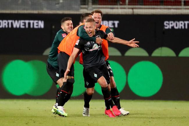 附加赛-不莱梅2-2客平惊险保级 57德甲赛季压拜仁
