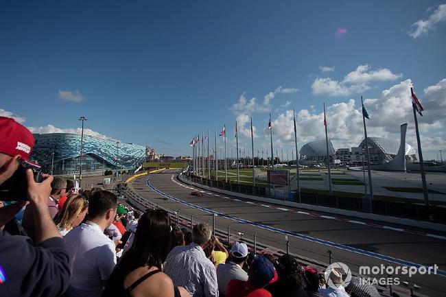 F1俄罗斯大奖赛主办方计划按照50%的上座率对外售票