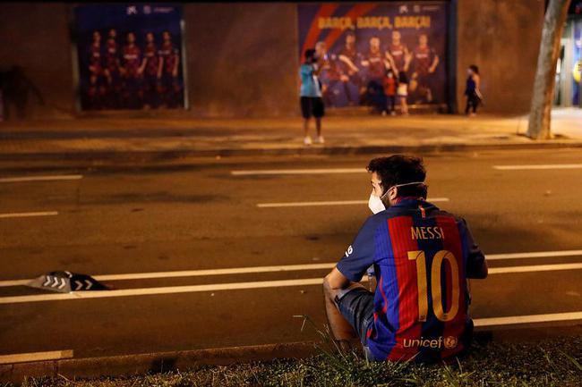 梅西的不满并不是针对巴萨和球迷