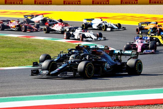 F1托斯卡纳站倍耐力总结:梅奔受益于所有3款轮胎