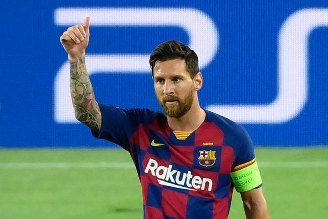 梅西是2020年收入最高的足球运动员