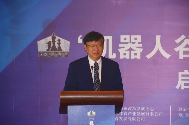 中国国际象棋协会主席叶江川