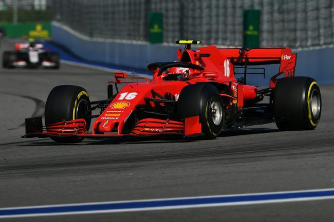 """勒克莱尔在俄罗斯大奖赛的首圈驾驶稍显""""大意"""""""