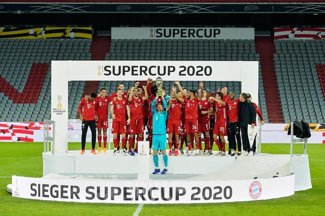 拜仁夺得2020年第五冠