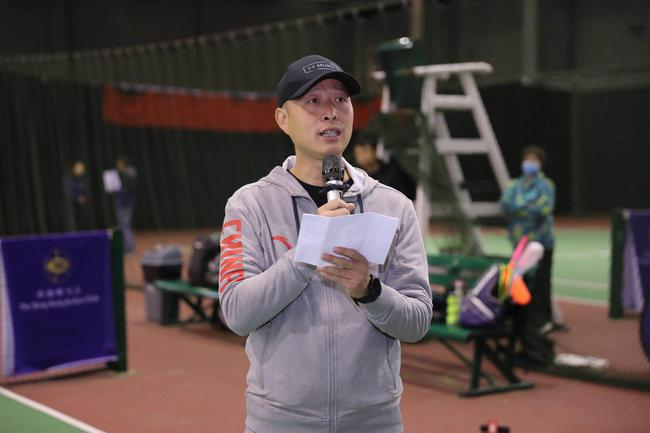 国奥利贤(北京)体育文化发展有限公司总经理段少武致辞