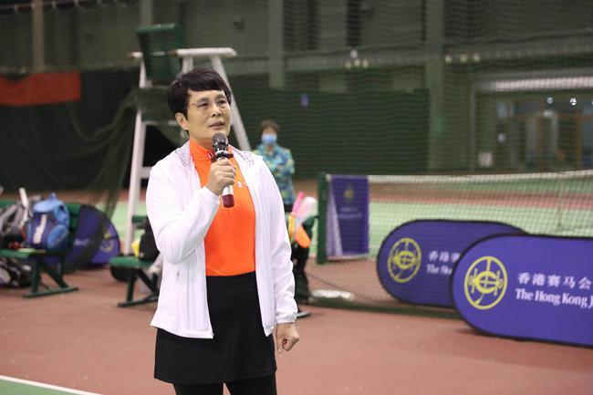 香港赛马会国内体育项现在主任顾问任军致辞