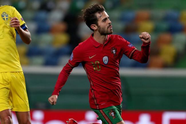 欧国联-C罗替身2射1传 B席破门 葡萄牙3-0胜瑞典