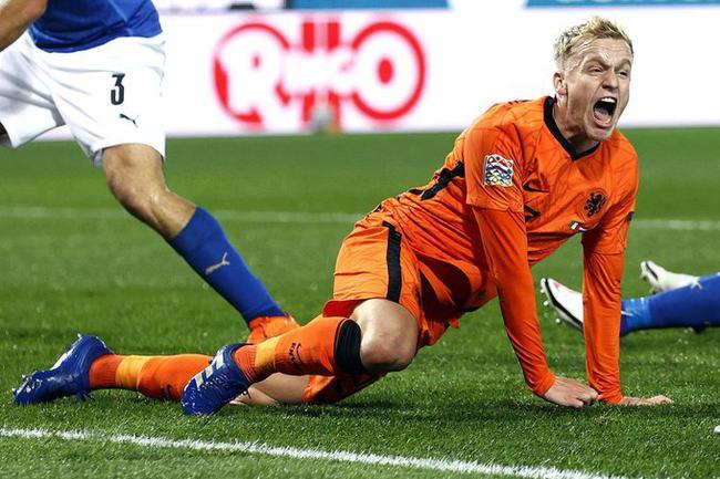 欧国联-曼联新援处子球 意大利1-1平荷兰20场不败