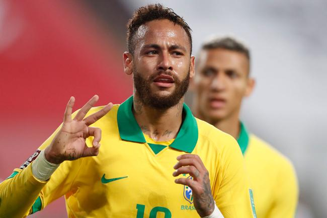 巴西公布国家队名单:内马尔库鸟领衔 阿利松复出
