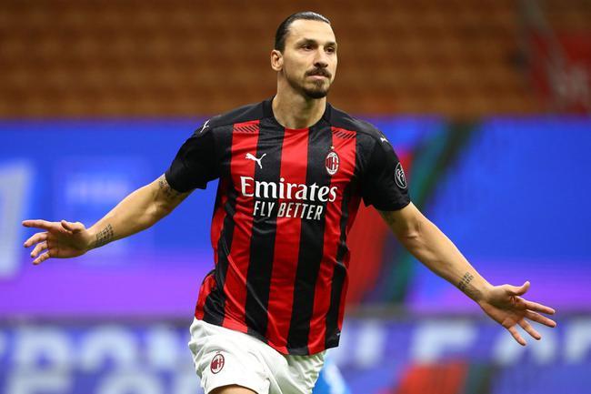 意甲-伊布2球莱昂2传 AC米兰三度被追平3-3罗马