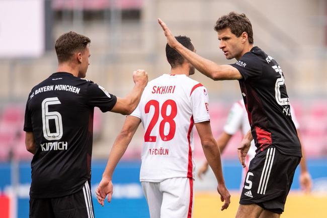 德甲-穆勒点射 格纳布里罗本式进球 拜仁2-1客胜