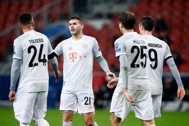拜仁终究12分钟狂轰4球 欧冠最强屠城机器