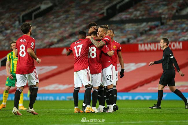 1-0战胜西布朗维奇,曼联终于在联赛主场拿下了一场成功