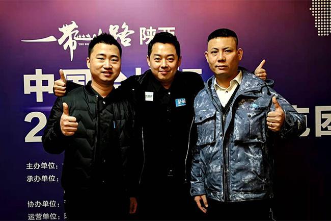 左起:楚秉杰、崔鸣、郑宇伯
