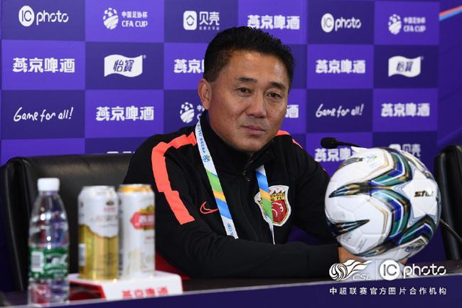 上港执行教练:丢球后情绪有波动 比赛很有锻炼价值
