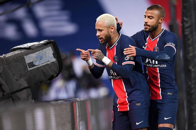 法甲-内马尔破门 旧将反戈一击 巴黎主场2-2平