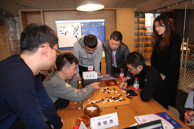 北京赛区队际赛清华队研究室