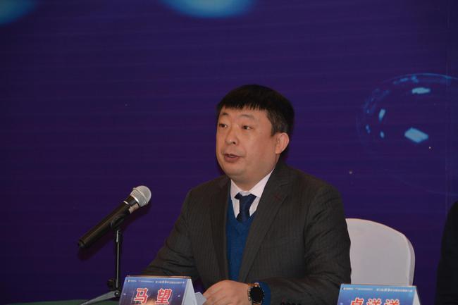 河南省围棋协会主席马望主持开幕式