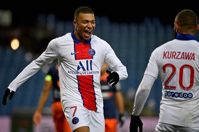 法甲-迪马利亚助攻 姆巴佩替补破门 巴黎客场3-1