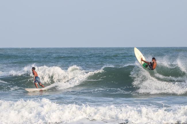冲浪队领队:全力追逐奥运愿望 部队前进很快