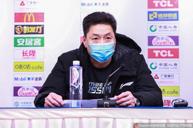 李春江:球员有情绪很正常 外援出现了伤病
