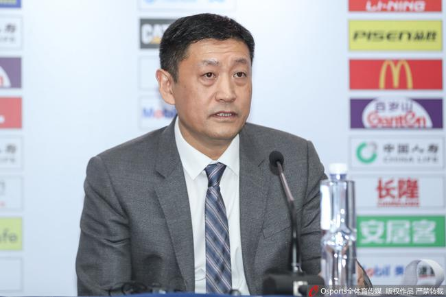 广东临时主帅:取胜归功于杜锋赛前的具体部署