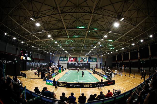 王者之志挑战赛在上海举行 林丹李雪芮等人亮相