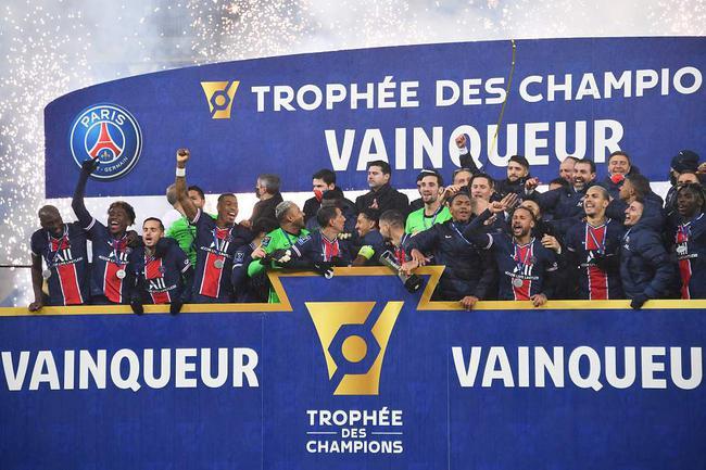 内马尔复出破门 法国超级杯大巴黎2比1豪夺八连冠