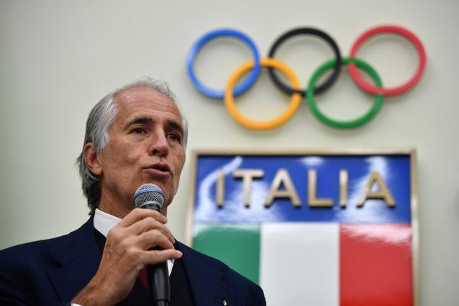 意大利奥委会主席:绝不要求奥运选手插队打疫苗
