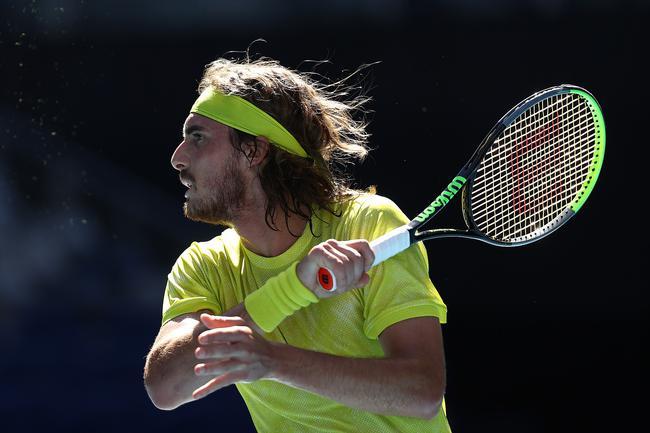 西西帕斯收对手退赛大礼 澳网男单八强全部产生