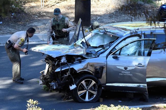 洛杉矶警长:伍兹车祸为意外 估计不用面临起诉