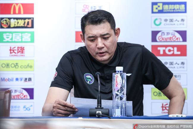 巩晓彬:广东是超级强队 我们球员打的要强硬