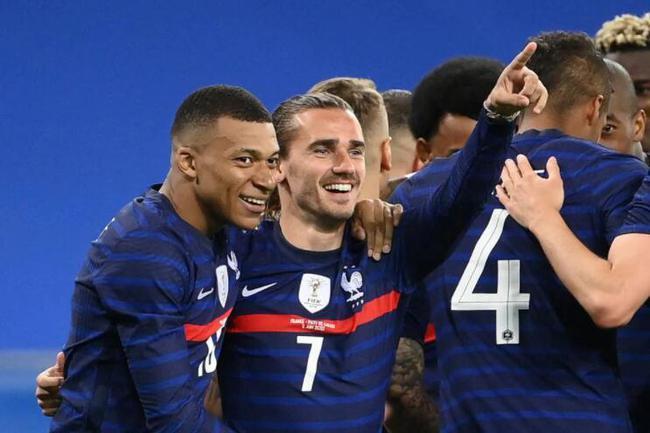热身赛-姆巴佩破门 巴萨双星进球 法国3-0威尔士