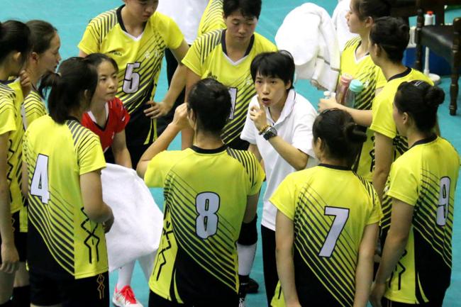 十四运会青年女排漳州赛区第二日 广东3-0四川