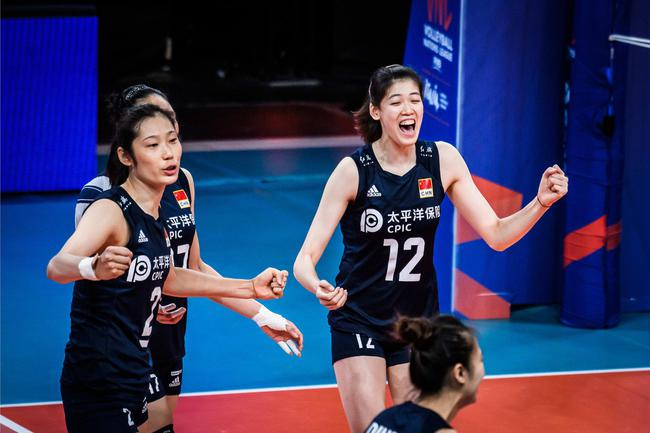 朱婷15分中国女排3-0俄罗斯 世联赛勇夺五连胜