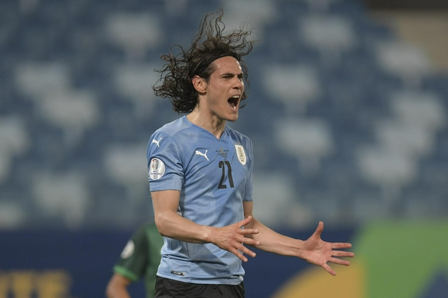 美洲杯-卡瓦尼破门 乌拉圭2-0玻利维亚提前出线