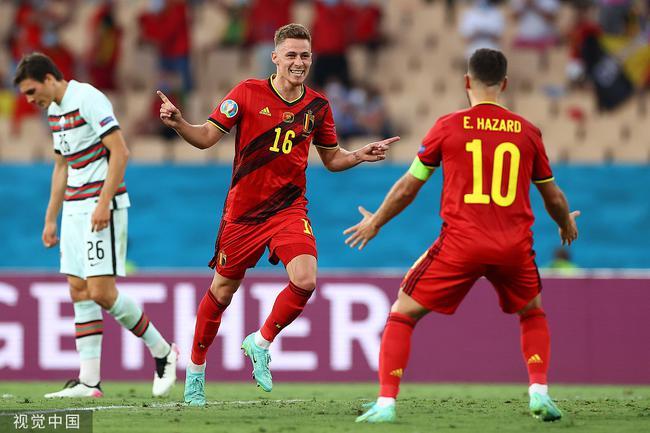 【博狗体育】真·阿扎尔!小阿扎尔轰无解世界波 欧洲杯进球数超哥哥