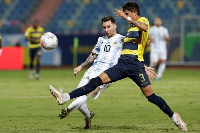 梅西:个人的纪录都是次要的 阿根廷接下去要进决赛